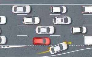 El importante vídeo de la DGT sobre cómo conducir en atascos para evitar multas y accidentes