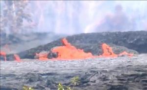 El volcán Kilauea pone en alerta roja a Hawái