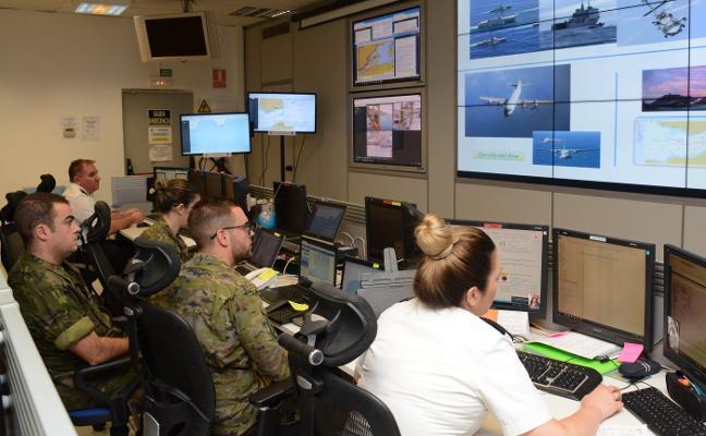 La Armada y el Ejército de Tierra hacen un ejercicio conjunto de seguridad marítima