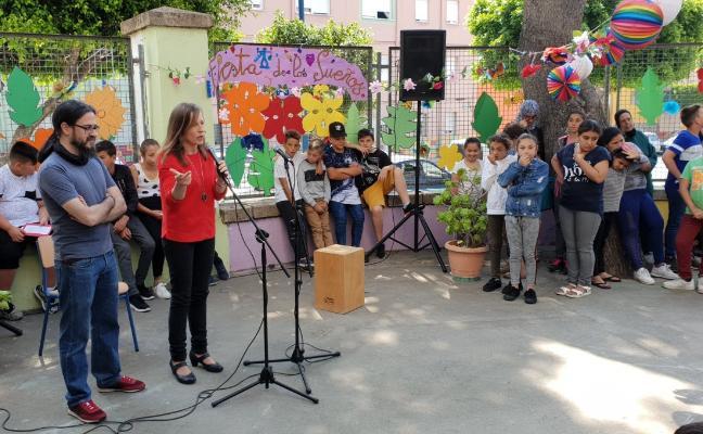 El CEIP La Chanca celebra la 'Fiesta de los sueños' por un centro más acogedor