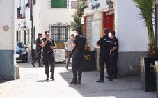 Amplio despliegue en el Albaicín en busca del autor de varios disparos de bala