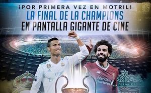 Los motrileños podrán ver la final de la Champions en pantalla de cine gigante gratis
