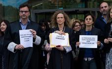 Jueces y fiscales van a la huelga para reivindicar la mejora en sus condiciones laborales