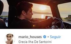 Blanca Suárez y Mario Casas, pillados de escapada romántica en Santorini
