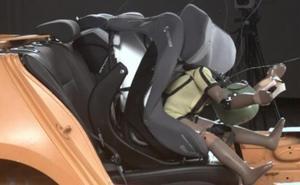 Aviso por las dos marcas de sillas para bebés que suspenden el test de impacto frontal