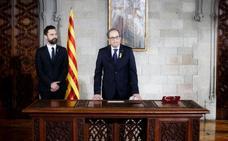 Torrent cree que mantener el 155 es «inconcebible» porque solo Torra puede decidir el Govern en Cataluña