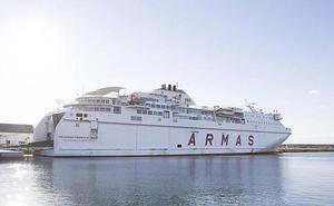 La naviera FRS operará a partir de ahora la ruta de Motril a Melilla