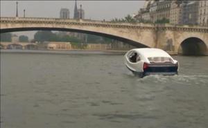 El 'Sea Bubble', un taxi acuático para atravesar París