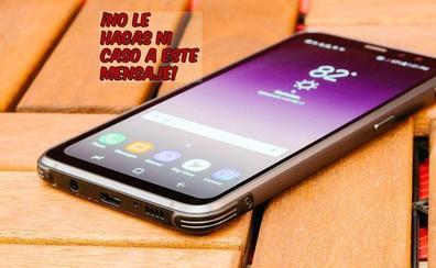 Alertan del enorme peligro del falso Samsung Galaxy S8 por un euro