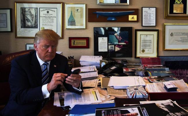 Los 'negros' escondidos detrás de los mensajes de Trump en Twitter