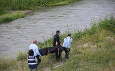 Entierran a la víctima que murió asfixiada junto al río Genil