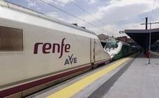 El AVE llega a Granada por primera vez, en pruebas