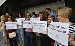 Concentración en Almería por la implantación de un juzgado que «quita privacidad» a los ciudadanos