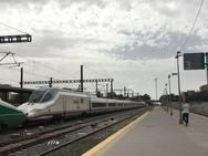 El AVE (en pruebas) llega a Granada
