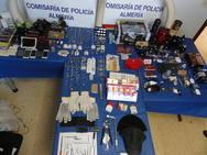 Desarticulan un grupo de origen georgiano con 14 robos en viviendas en Almería