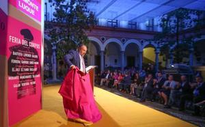 Emotividad, recuerdos, poesía y toreo de salón en el pregón de Belmonte