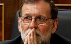 Rajoy afronta el reto de la moción de censura del PSOE: «Intentaré que mi legislatura dure cuatro años»