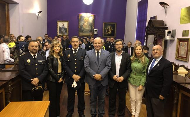 Luis Ojeda, «satisfecho» como nuevo Inspector de la Policía Local