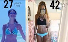 «Así es como conseguí con 40 el cuerpo que tenía a los 20»: desvela su dieta secreta