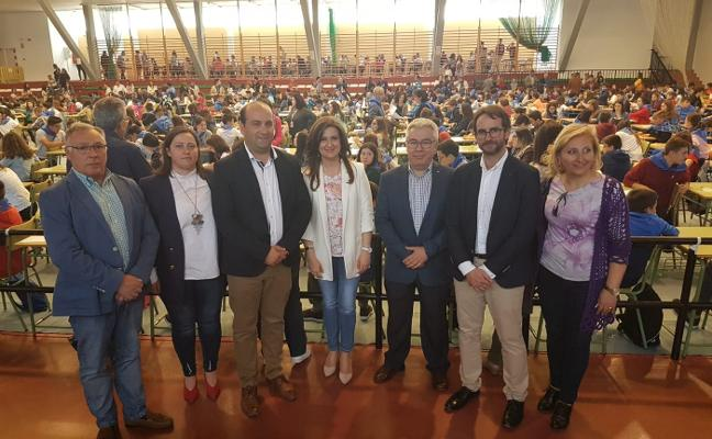700 alumnos participan en la XVIII Olimpiada Matemática de Pozo Alcón