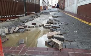 Una granizada provoca varias incidencias en el área metropolitana de Granada