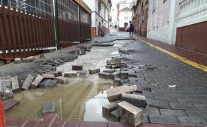Una veintena de incidencias por la tromba de agua en los pueblos de la mancomunidad del río Monachil