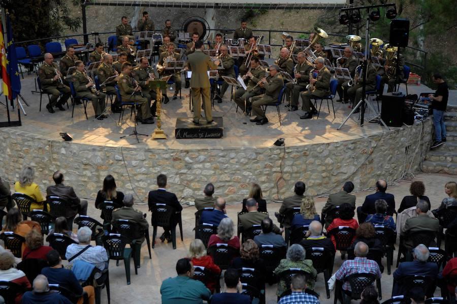 La Unidad de Música de la Academia General Militar ofrece un concierto en Lanjarón con motivo de la Semana de las Fuerzas Armadas