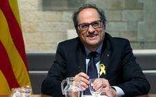 Torra renuncia a nombrar consejeros presos y huidos tras el 'no' de Rajoy