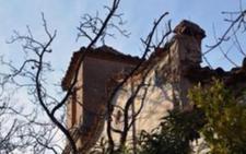 La ermita del Santo Cristo de la Heredad de Fiñana, en la lista roja del patrimonio