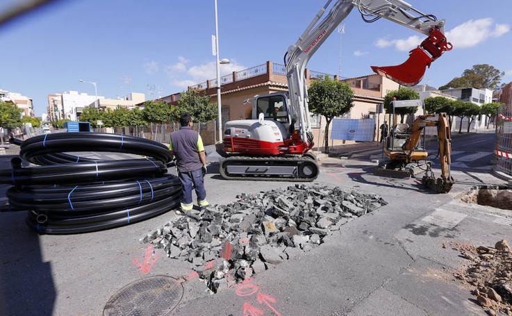 La calle Ancha de Motril inicia su gran transformación