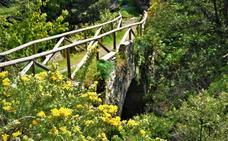 Lanjarón posee uno de los puentes romanos más altos de España