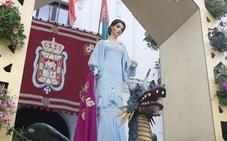 Así es el vestido de La Tarasca de este año