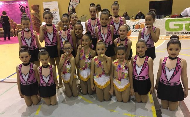 El club de Cúllar Vega destaca en los torneos de Padul y Las Gabias