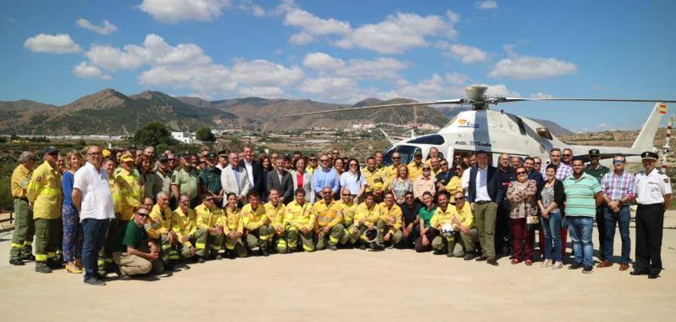 Medio millar de efectivos para luchar contra las llamas en la provincia