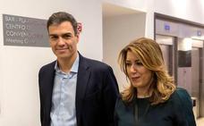 Susana Díaz y Pedro Sánchez, condenados a entenderse