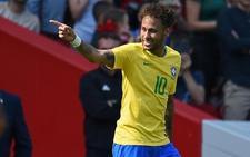 Neymar regresa a lo grande