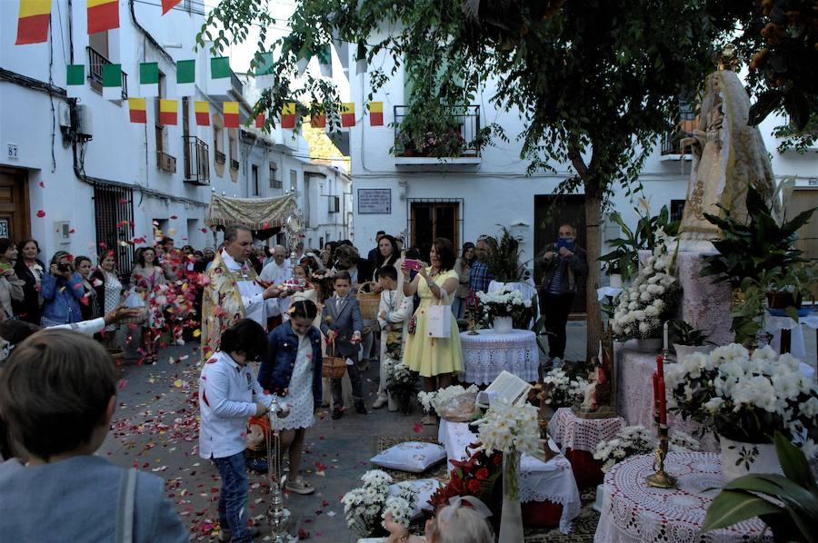 Fiesta del Corpus en Lanjarón