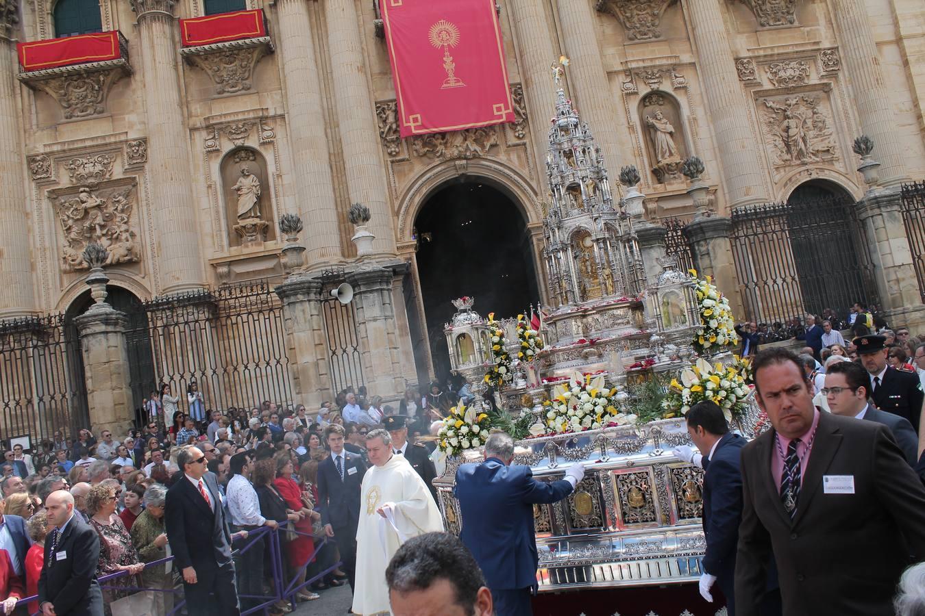 El Corpus luce en Jaén
