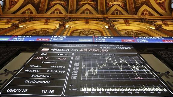 Interior de la Bola de Madrid /