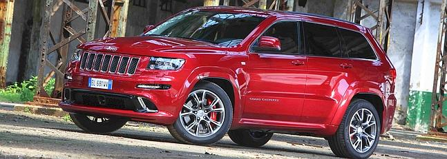 Jeep Grand Cherokee SRT: Brutal
