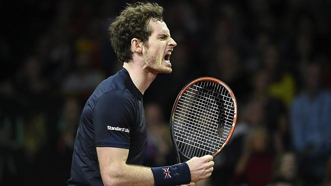 Andy Murray frena la euforia belga