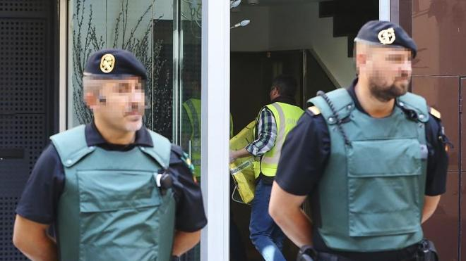 La Guardia Civil interroga a Rosell antes de ser trasladado a la Audiencia