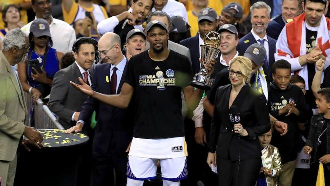 Los Warriors se proclaman campeones de la NBA