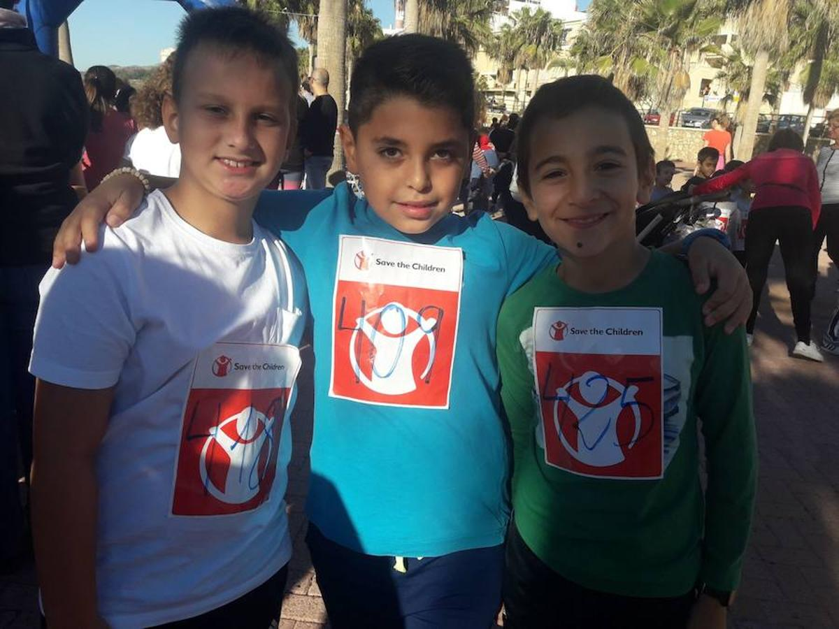 «Corremos por los niños que pasan hambre»