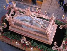 El Santo Sepulcro de Berja, protagonista en el Vía Crucis