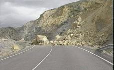Corte total de carretera en Berja, hoy