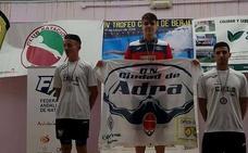 El club de natación Ciudad de Adra consigue 16 medallas en Berja