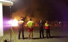 San Juan se celebra «sin sobresaltos» en Adra