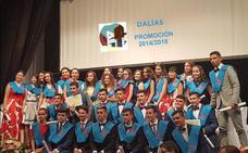 Estudiantes de Dalías celebran su graduación sin el apoyo de sus profesores