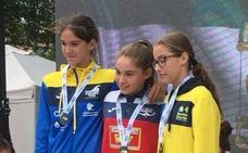 Natalia Padilla «destroza los cronos» y se lleva cinco medallas